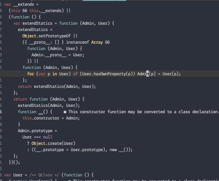 class inheritance in prototype