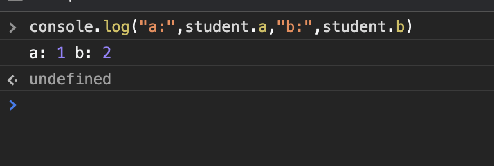 Object student