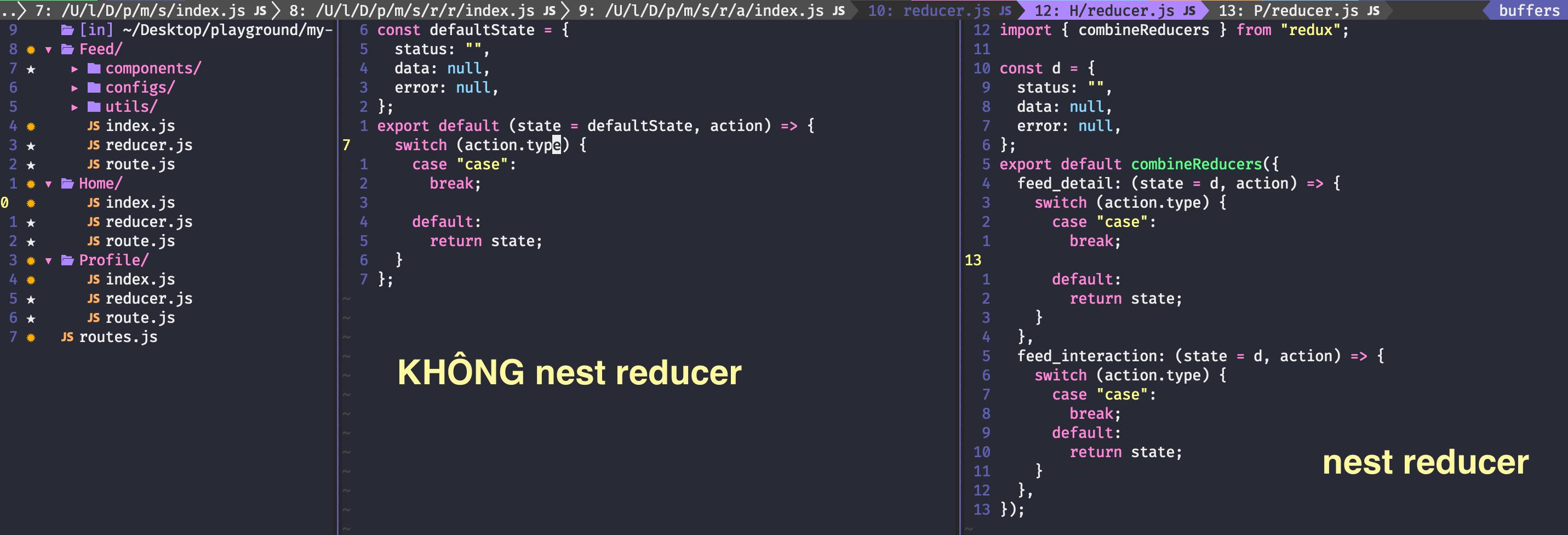 nest reducer